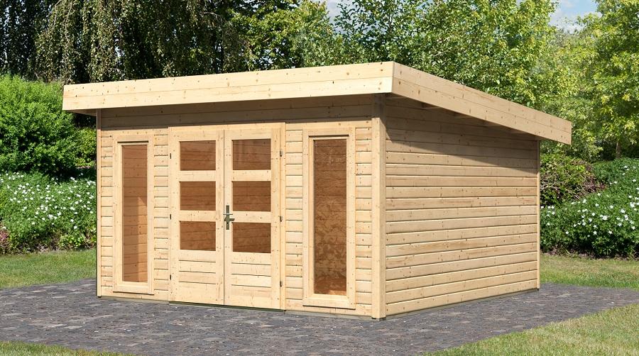woodfeeling gartenhaus northeim 5. Black Bedroom Furniture Sets. Home Design Ideas