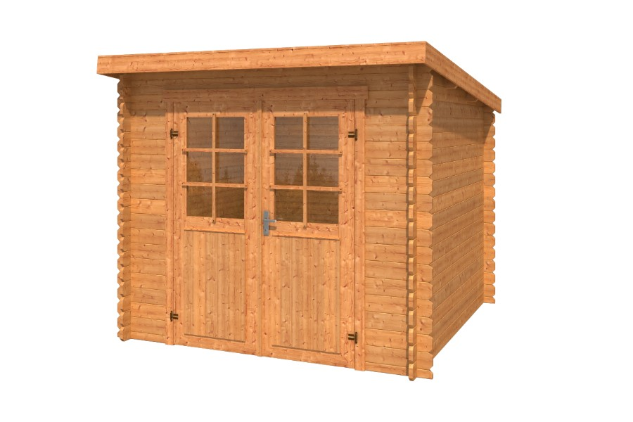 lasita maja gartenhaus indi 230 1002512. Black Bedroom Furniture Sets. Home Design Ideas