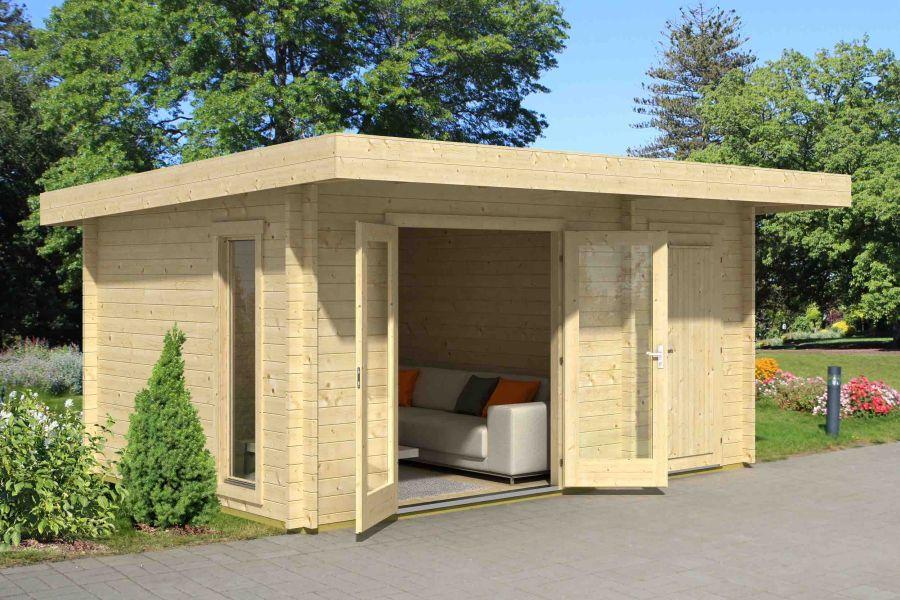 lasita maja gartenhaus chameleon. Black Bedroom Furniture Sets. Home Design Ideas
