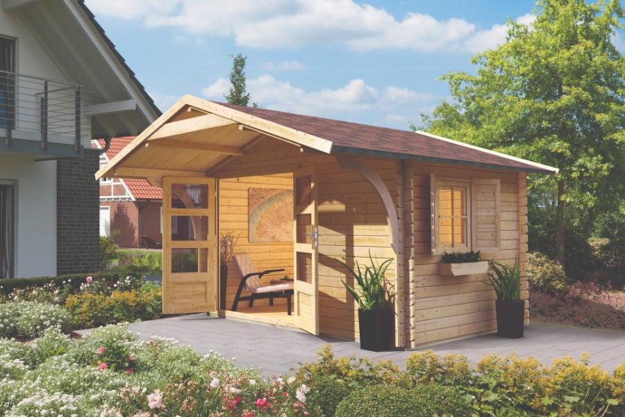 karibu gartenhaus berne 5. Black Bedroom Furniture Sets. Home Design Ideas