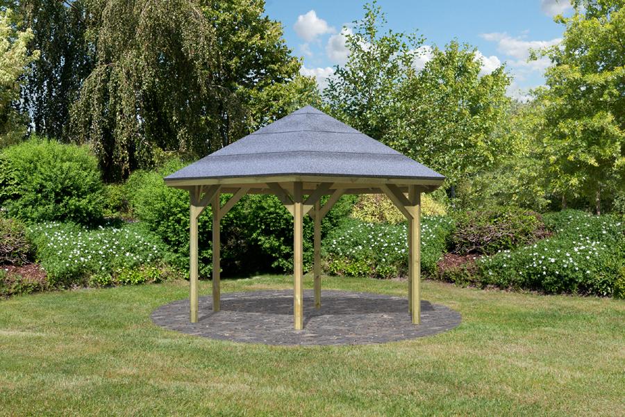 karibu gartenpavillon oslo 2. Black Bedroom Furniture Sets. Home Design Ideas