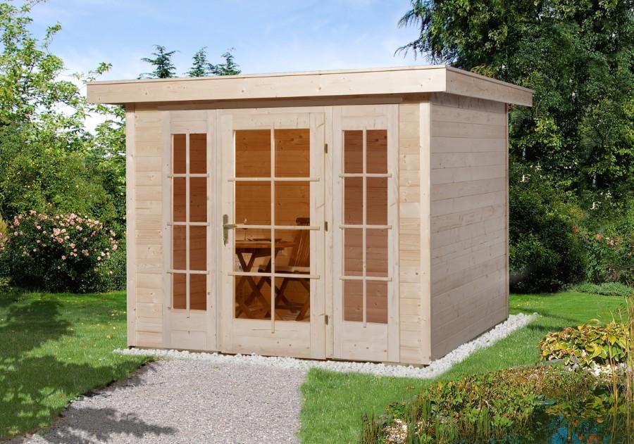 weka gartenhaus panorama 172 gr 1 21 mm. Black Bedroom Furniture Sets. Home Design Ideas