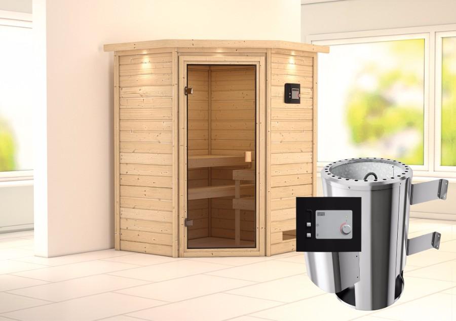 karibu sauna innenkabine alicja. Black Bedroom Furniture Sets. Home Design Ideas