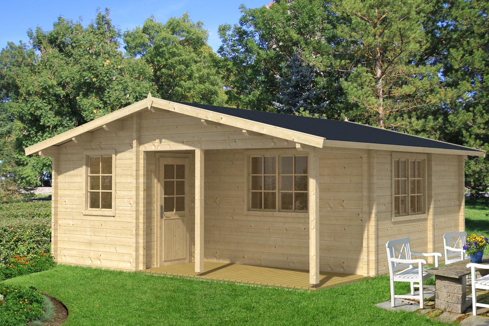 garten und freizeithaus modell hagen 70 iso. Black Bedroom Furniture Sets. Home Design Ideas