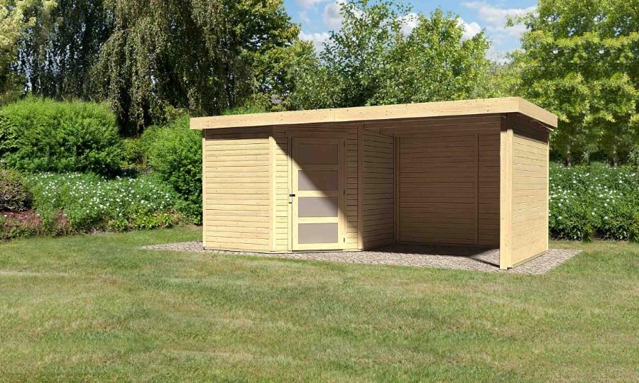 schwandorf 5 im set mit anbaudach 2 80 m breite. Black Bedroom Furniture Sets. Home Design Ideas