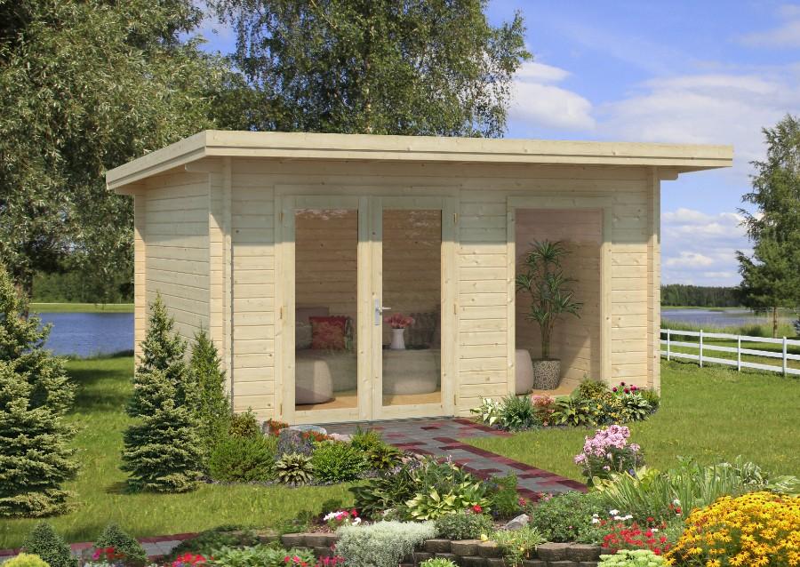 palmako gartenhaus heidi 11 7 m iso. Black Bedroom Furniture Sets. Home Design Ideas