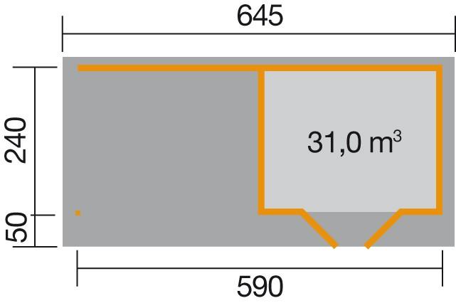 weka designhaus 126 b gr 1 28 mm. Black Bedroom Furniture Sets. Home Design Ideas