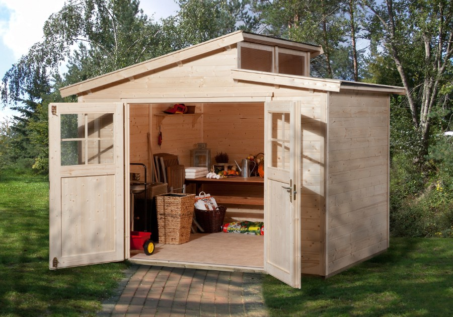 weka gartenhaus 226 gr 3 21 mm. Black Bedroom Furniture Sets. Home Design Ideas