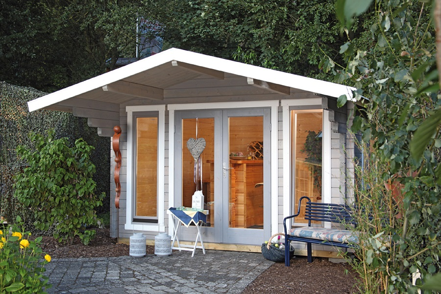 wolff gartenhaus hammerfest 70 g 1 iso 870 560. Black Bedroom Furniture Sets. Home Design Ideas
