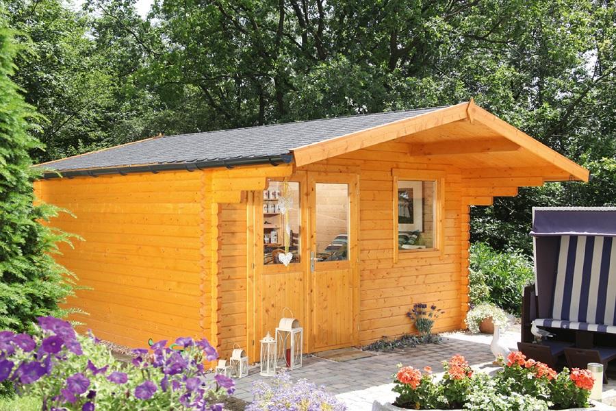 wolff gartenhaus lisa 44 c iso 240 237. Black Bedroom Furniture Sets. Home Design Ideas