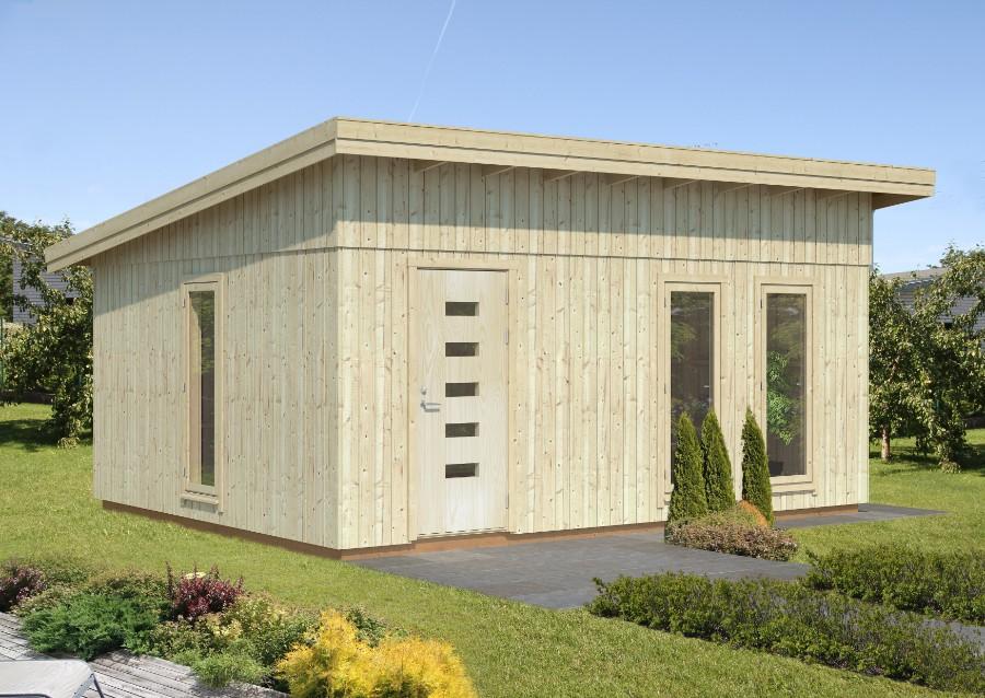 palmako nordic gartenhaus annika 21 5 m. Black Bedroom Furniture Sets. Home Design Ideas